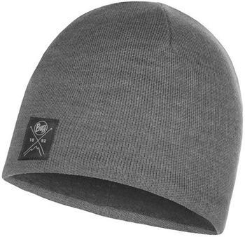 Buff Knitted Polar Hat solid grey
