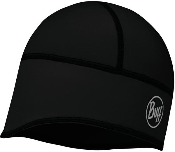 Buff Windproof Tech Fleece Hat solid black