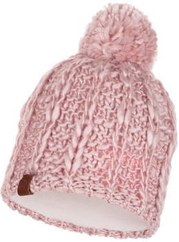 Buff Knitted & Band Polar Fleece Hat Liv coral pink