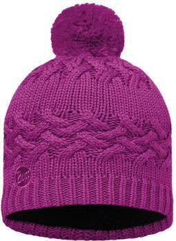 Buff Knitted & Polar Hat Savva Mardi grape
