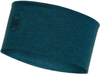 Buff 2 Layers Midweight Merino Wool Headband ocean melange