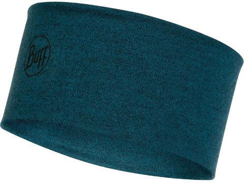Buff 2 Layers Midweight Merino Wool Headband ocean melange