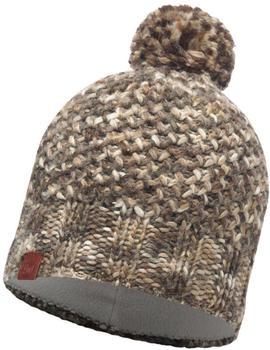 Buff Knitted & Polar Hat Margo Margo brown taupe