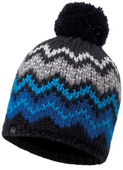 Buff Knitted & Polar Hat Danke black