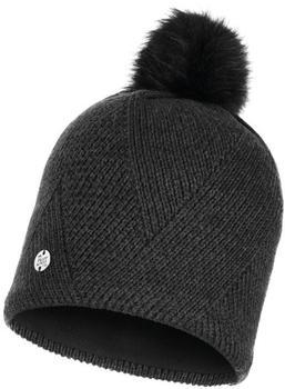 Buff Knitted & Band Polar Fleece Hat Disa black