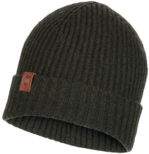 Buff Knitted Hat Biorn military