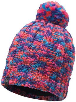 Buff Knitted Polar Hat Livy orange