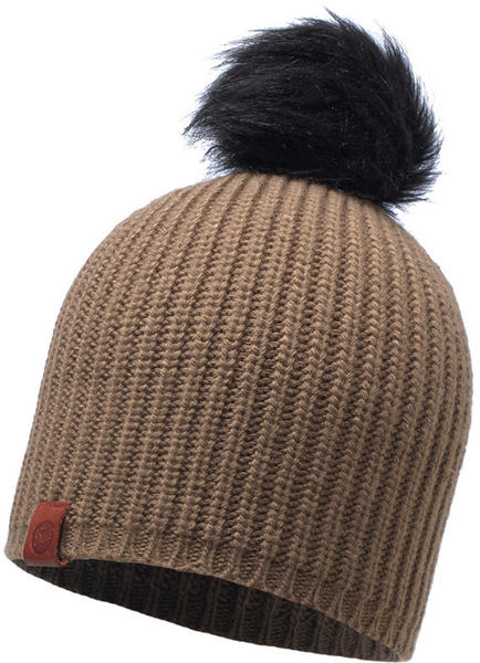 Buff Knitted Hat Adalwolf taupe