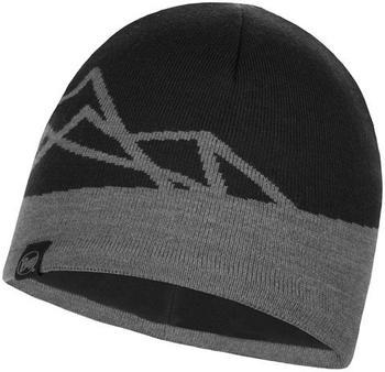Buff Knitted & Band Polar Fleece Hat Yost black
