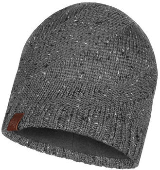 Buff Knitted & Band Polar Fleece Hat Arne grey