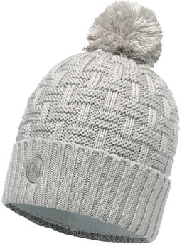 Buff Knitted & Polar Hat Airon mineral grey