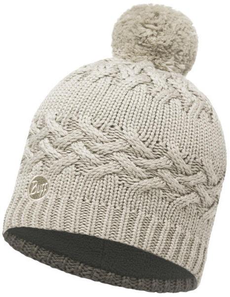 Buff Knitted & Polar Hat Savva cream
