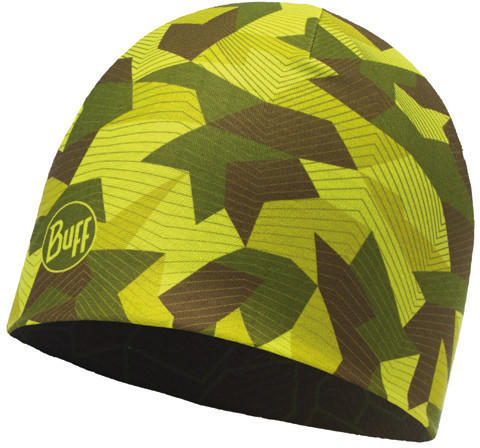Buff Microfiber Reversible Hat block camo green