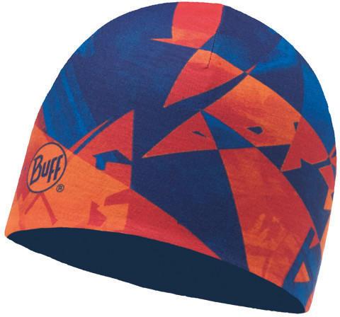 Buff Microfiber Reversible Hat Rush multi blue skydiver