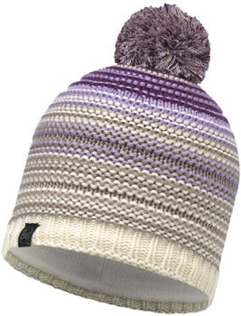 Buff Knitted & Polar Hat Neper violet