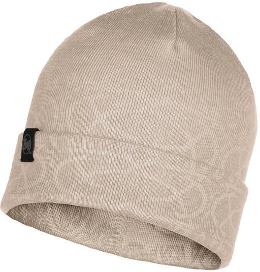 Buff Knitted Hat Greta cru