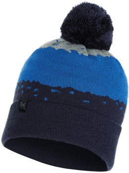 Buff Knitted Hat Tove night blue