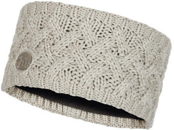 Buff Knitted & Polar Fleece Headband Savva cream