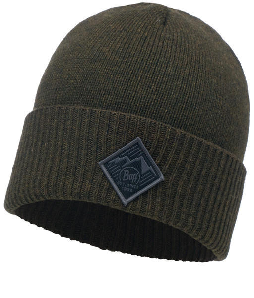 Buff Knitted Hat Pavel forest night