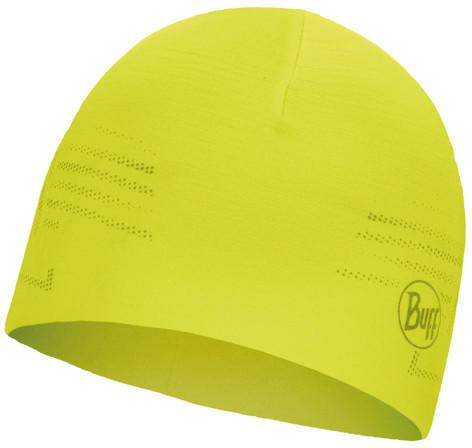 Buff Microfiber Reversible Hat R-solid yellow fluor