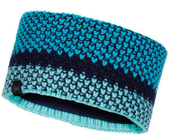 Buff Knitted & Polar Fleece Headband Tilda Curaçao blue