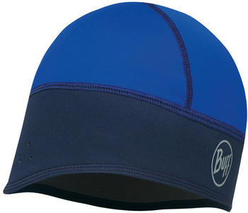 Buff Windproof Tech Fleece Hat solid blue