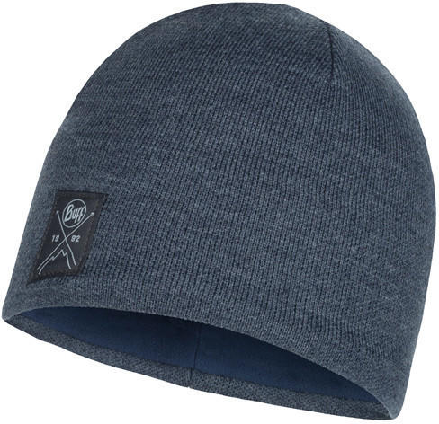 Buff Knitted Polar Hat solid navy