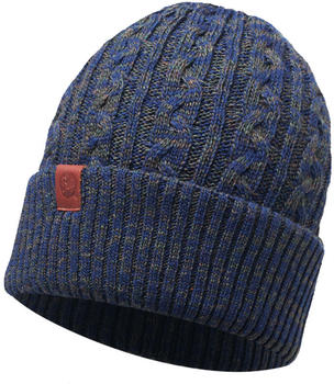 Buff Knitted Hat Braidy Moss