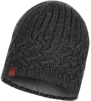 Buff Knitted & Band Polar Fleece Hat Helle graphite