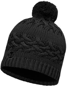 Buff Knitted & Polar Hat Savva black
