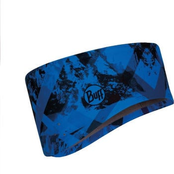 Buff Windproof Headband mountain top cape blue