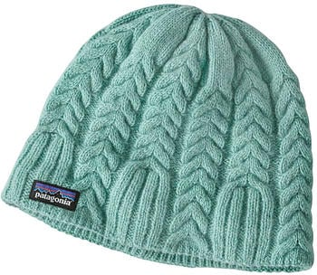 Patagonia Women Cable Beanie vjosa green