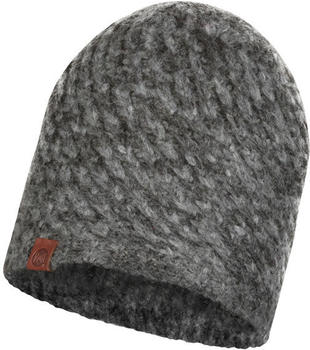Buff Knitted Hat Karel graphite