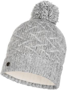 Buff Knitted & Band Polar Fleece Hat Ebba cloud