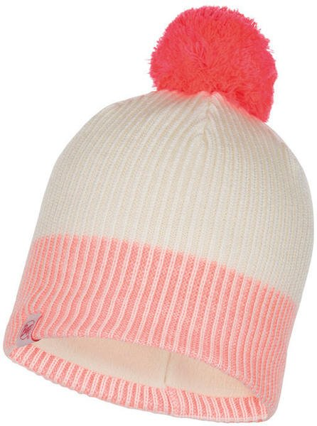Buff Knitted & Full Polar Hat Audny fog