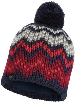 Buff Knitted & Full Polar Hat Danke night blue