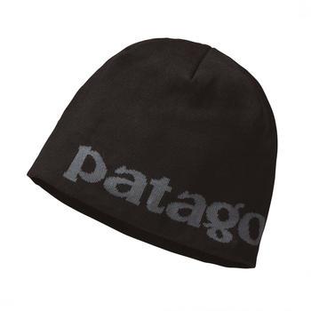 Patagonia Beanie Hat Logo belwe/black
