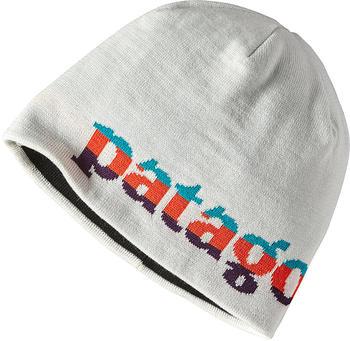 Patagonia Beanie Hat Logo belwe mini/birch white