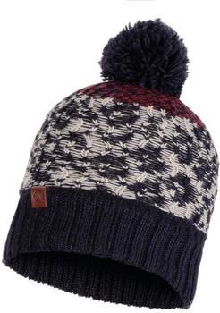 Buff Knitted & Band Polar Fleece Hat Thor navy