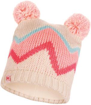 Buff Knitted & Full Polar Hat Arild multi
