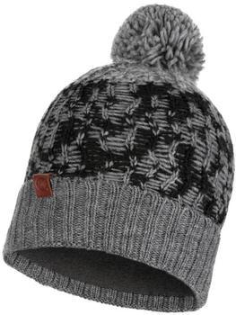 Buff Knitted & Band Polar Fleece Hat Thor grey vigoreaux