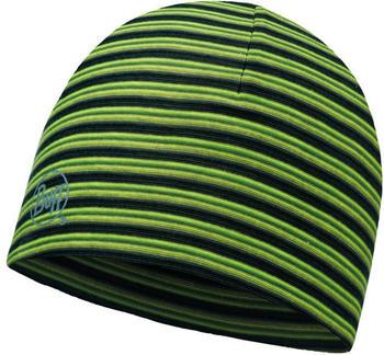 Buff Microfiber Reversible Hat Yellow Fluor Stripes (113160-117-10-00)