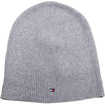 Tommy Hilfiger Soft Knit New Odine Beanie light grey heather (AW0AW05949)