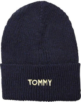 Tommy Hilfiger Effortless Knit Beanie tommy navy (AW0AW05950)