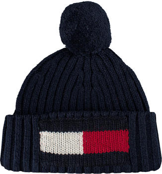 Tommy Hilfiger Big Flag Beanie tommy navy (AM0AM03992)