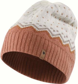 fjaellraeven-evik-knit-hat-f78128-terracotta-pink