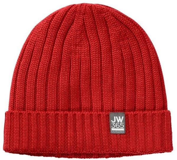 Jack Wolfskin 365 Stormlock Rib Knit Cap peak red