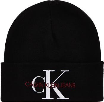 calvin-klein-logo-beanie-black
