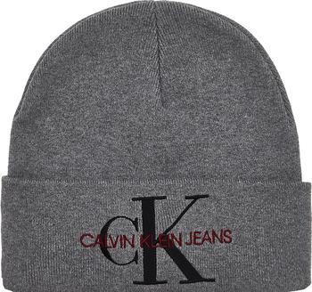 calvin-klein-logo-beanie-mid-grey-heather