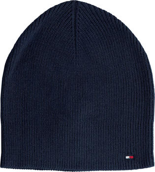 Tommy Hilfiger Flag Rib-Knit Beanie Women sky captain